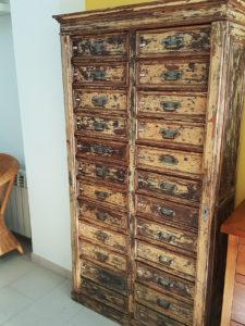 Mueble de joyero, época alfonsina, finales de siglo XIX